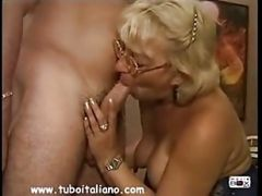 Italian Blonde Mature Matura Italiana