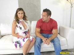 Ivy Rose & Johnny Castle in Stacked Rose - BigNaturals