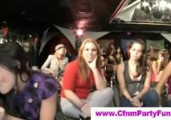 Cfnm babes sucking cfnm strippers