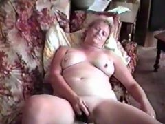 Chubby young slut with a vibrator.
