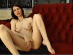 Cam girl playing with herself 1