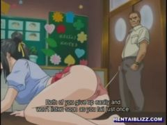 Virgin hentai bondaged and wetpussy fucked til creampie