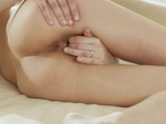Unbelievably sensitive pussy stripping