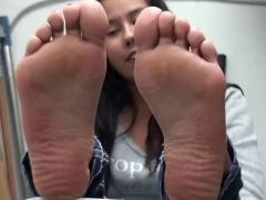 Hot Native American Girl Feet