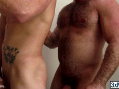 Confused straight guys Roman Todd and Jaxton Wheeler takes shower together and getting wild