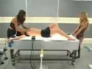 3 Sensuous furies Test shagging Machines in A Laboratory