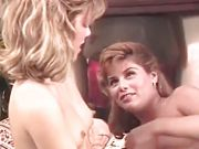 Vintage lesbian pussy licking
