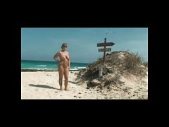 Nude Milf on Beach BVR