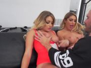 August Ames And Kissa Sins Hardcore Threesome