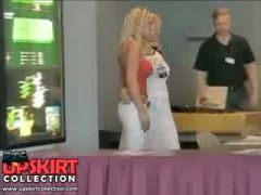 The luxurious big titted Blonde in red top and low jeans was shot...