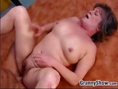 Fat And Old Woman Being Fucked