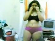 Mallu strip tease