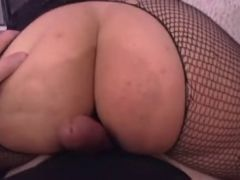 Thick Blonde working his shaft
