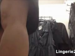 Mature Woman Changing Clothes