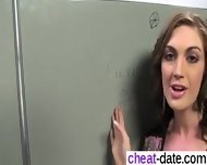 Alana Rains Gets Her Pussy Filled With A - I Am On Cheat-date