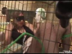 She Was Punished And Put In A Cage