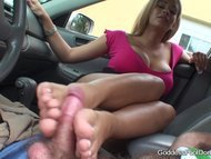 Drivers Education - shoe and feet worship