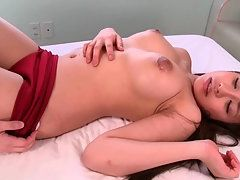 Super Hot Teen Chick Gets Her Big Tits Huge Licked