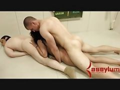 Brutal Painal And Ass To Mouth For Big Ass Gameshow Contestant