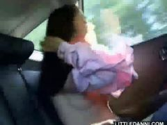 In The Car And Horny
