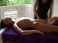 Erotic massage with sexy fingering