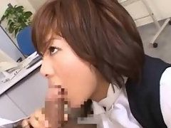 Horny Office Gal Wants Huge Dick in Hot Cockpit