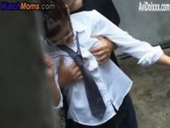 Senior school boy fucking junior school girl