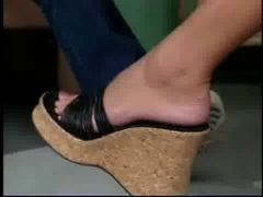 Sexy shoes! Does anyone know the Movie or the Girl ???