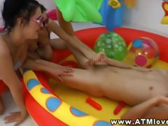 Vanessa Vaughn enjoying ATM