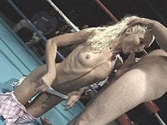 Wild Whores Cocksucking in the Ring