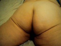 my ass laying down
