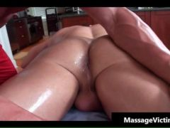 Super hot bodied guy gets oiled for gay video 3