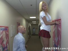 Big Tits at School: Fucking For School President!