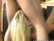 Crazy rough gagging of Layla Price