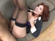 Brittany O'Connell Gets Her Pussy Split by Chris Johnson