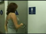 cocksucking in a toilet