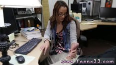 Amateur girl take two College Student Banged in my pawn shop!