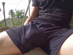 Up chuck in shorts