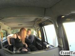 Lucky cab driver fucked tattooed hottie in the backseat