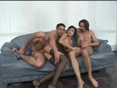 Eva Darksome double penetration and Anal