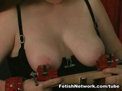 Tit whipping and cruel punishments in the basement