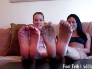 Hot foot fetish teasers