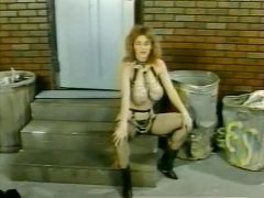 Becky Savage, Busty Belle, Candy Samples in vintage porn movie