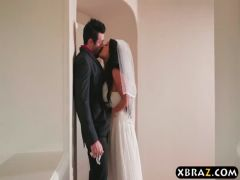 Huge tits bride cheats with the best man