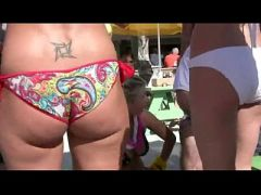 Horny College Boys Film College Girls In Tiny Bikinis Have Fun During Spring Bre
