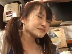 Asian cum facials