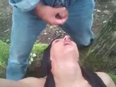 cum slut outdoor