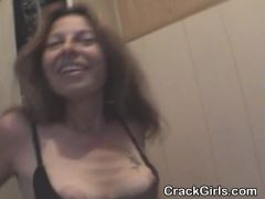 Mature Brunette Street Walker Face Fucked Point Of View