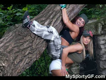 Hot Muscular Fitness GFs!