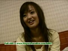 Saori, naughty asian model is talking about sex